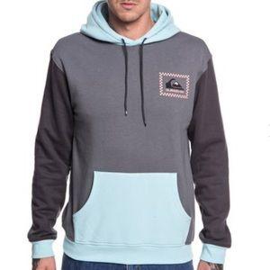 Quiksilver men's half days pullover hoodie